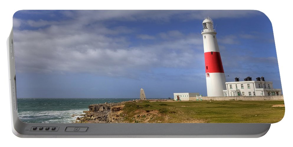 Portland Bill Portable Battery Charger featuring the photograph Portland Bill by Joana Kruse