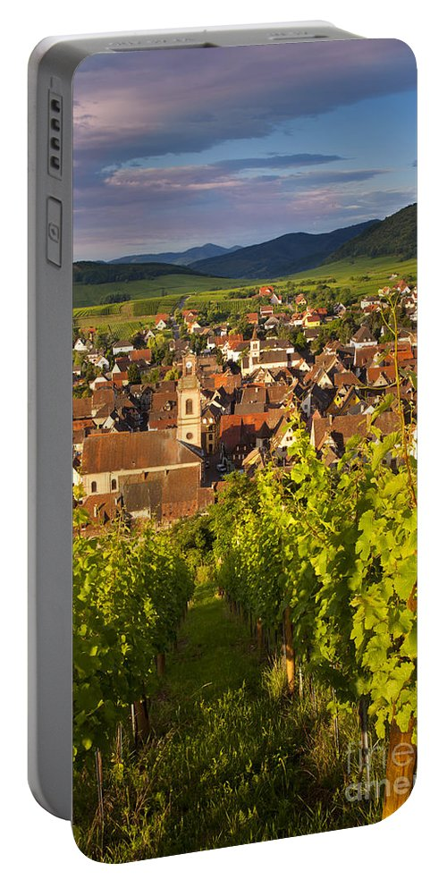 Riquewihr Portable Battery Charger featuring the photograph Riquewihr Alsace by Brian Jannsen