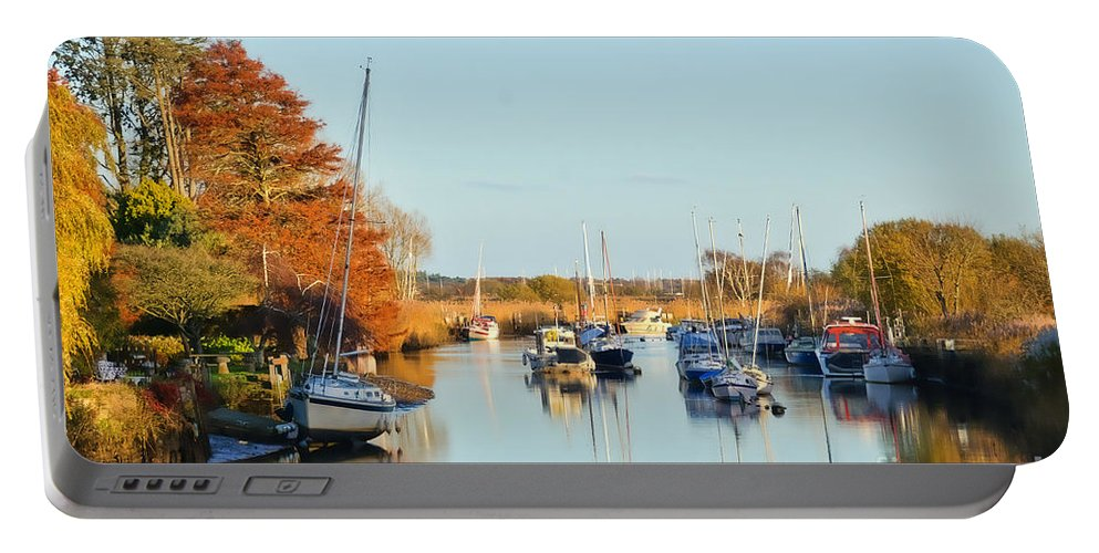 Wareham Portable Battery Charger featuring the photograph River Frome At Wareham by Susie Peek