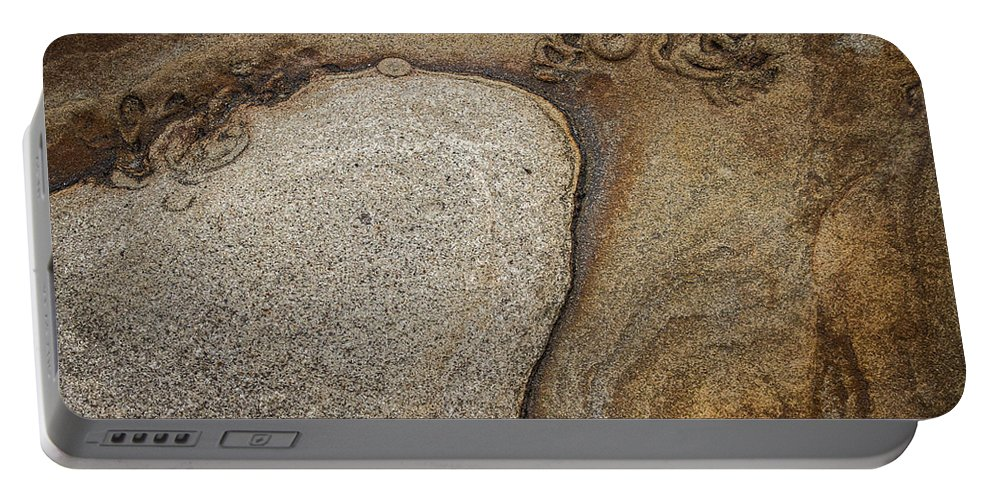Rock Portable Battery Charger featuring the photograph Art Rock by Dayne Reast