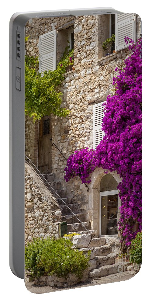 Europe Portable Battery Charger featuring the photograph Saint Paul De Vence by Brian Jannsen