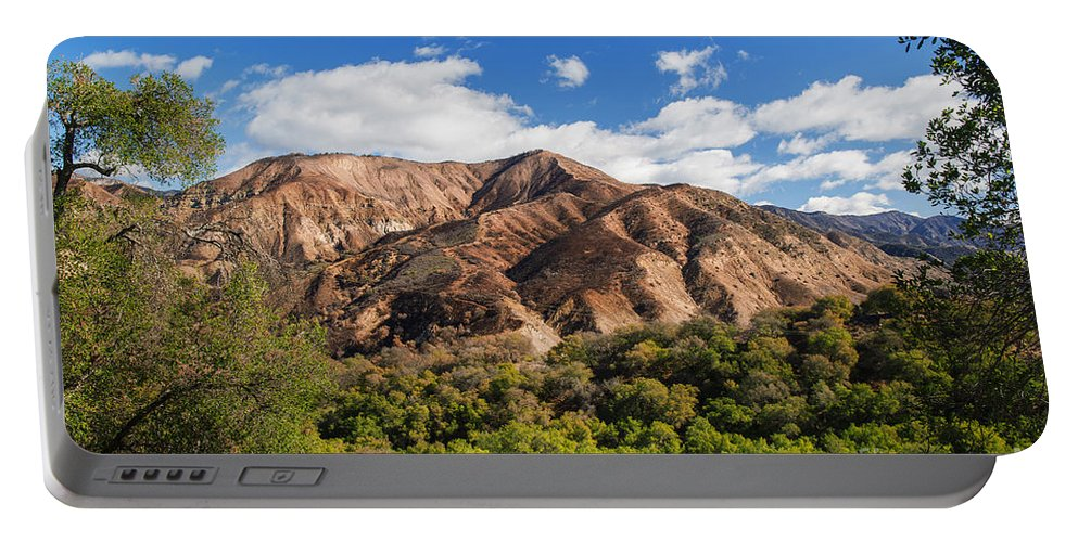 Santa Ynez Valley Portable Battery Charger featuring the photograph Santa Ynez Valley by Yefim Bam