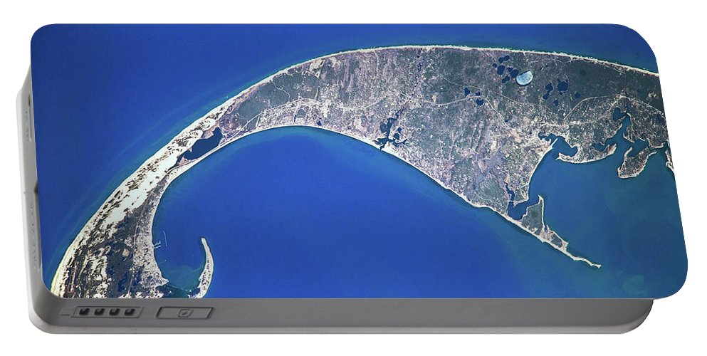 Photography Portable Battery Charger featuring the photograph Satellite View Of Cape Cod National by Panoramic Images