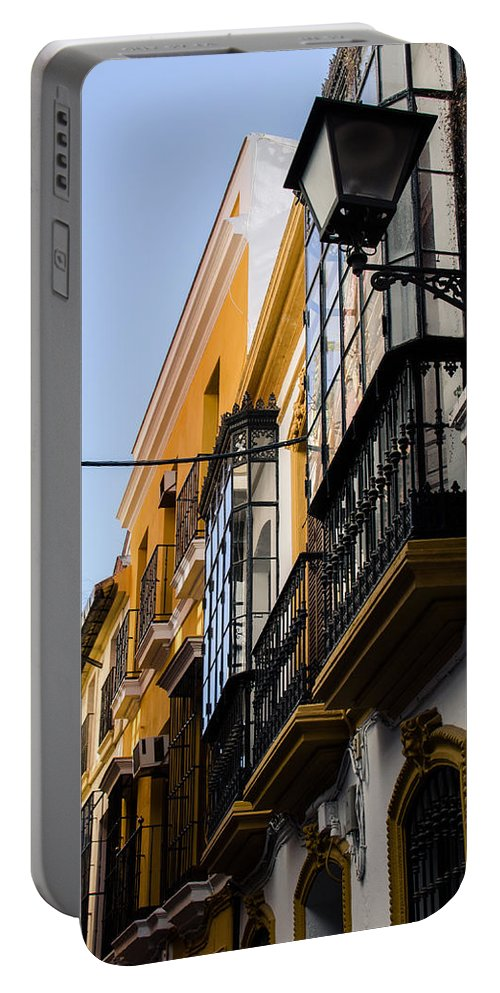 Spain Photographs Portable Battery Charger featuring the photograph Streets Of Seville by Andrea Mazzocchetti