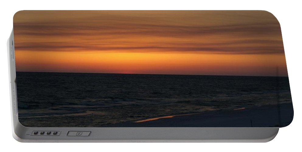 Sunset Portable Battery Charger featuring the photograph Sunset by Jo Jurkiewicz