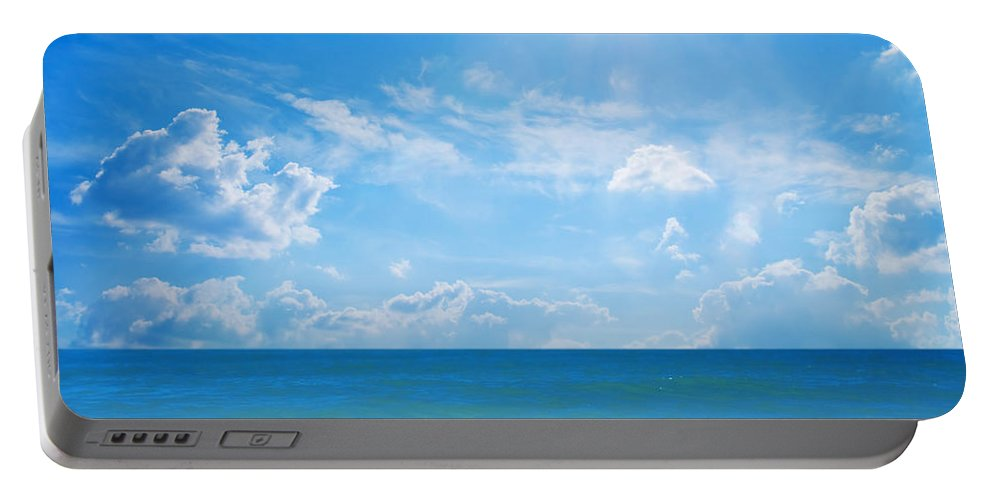 Beach Portable Battery Charger featuring the photograph Tropical Beach by Michal Bednarek