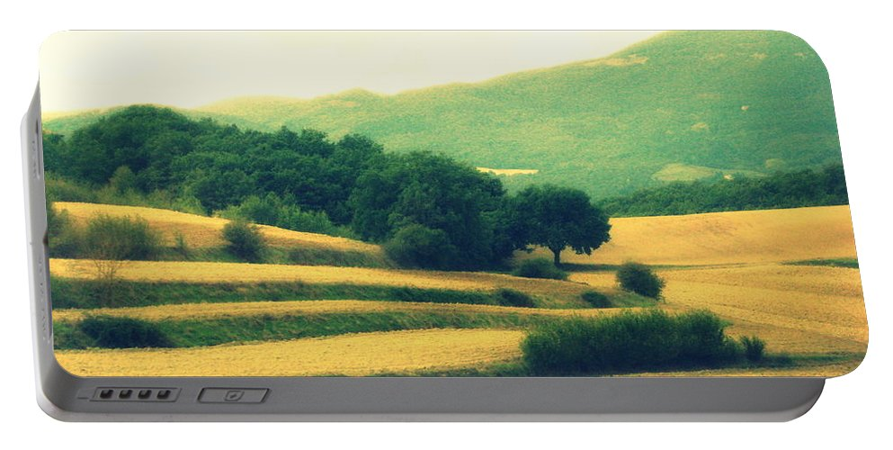 Italy Portable Battery Charger featuring the photograph Tuscany by Irina Davis