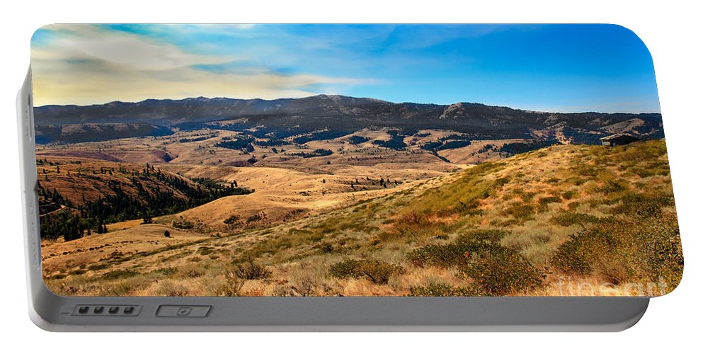 Landsacape Portable Battery Charger featuring the photograph Vast View by Robert Bales