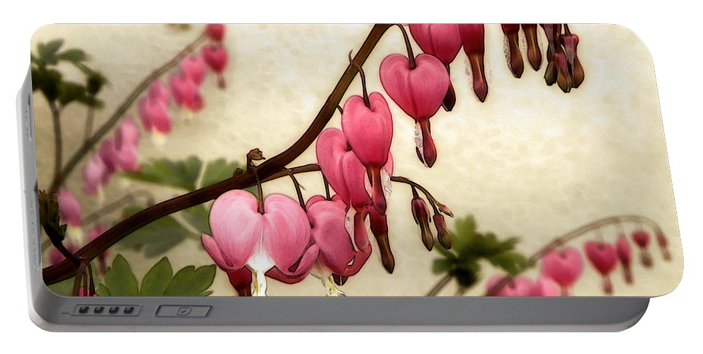 Hearts Portable Battery Charger featuring the photograph Where Love Grows by Sharon Woerner
