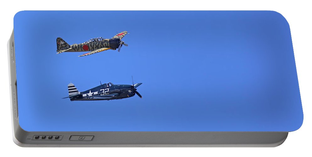 Grumman Portable Battery Charger featuring the photograph Wwii Planes by Paul Fell
