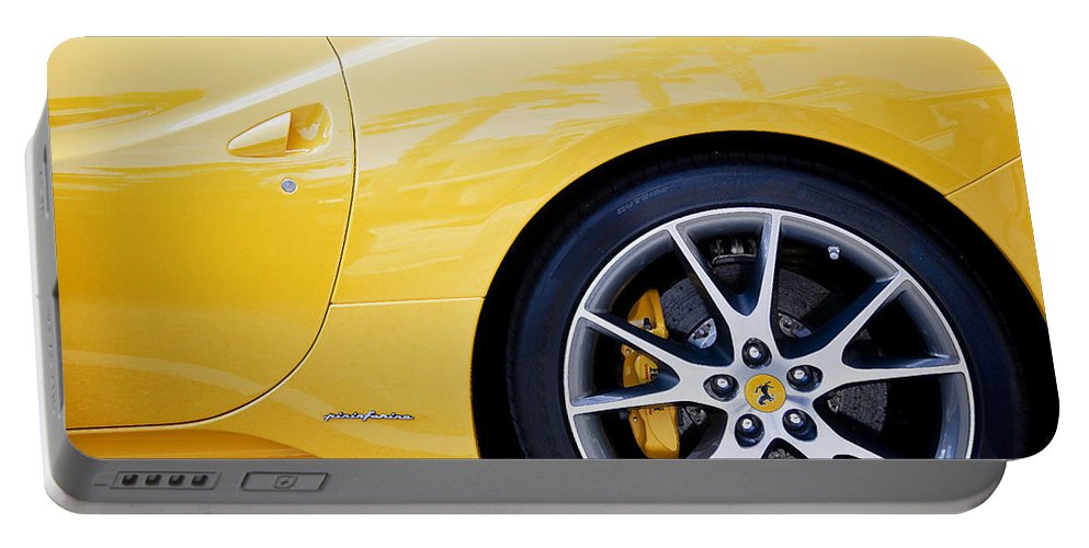 Ferrari Portable Battery Charger featuring the photograph 2013 Ferrari Pd by Rich Franco