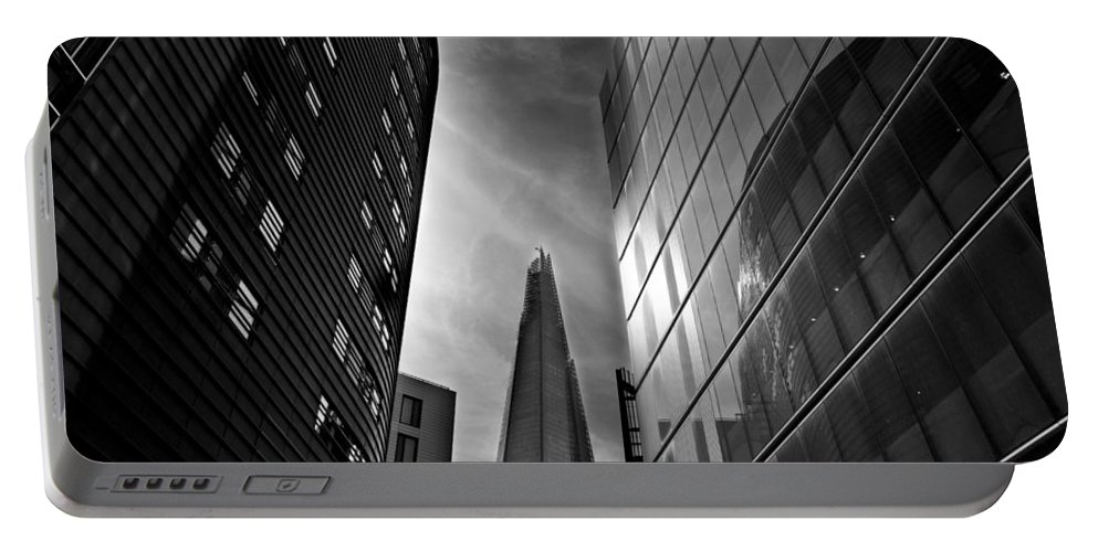 The Shard Portable Battery Charger featuring the photograph The Shard by David Pyatt