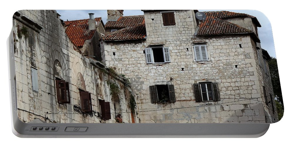 Split Croatia Portable Battery Charger featuring the photograph Views Of Split Croatia by Richard Rosenshein