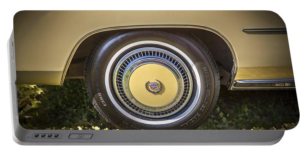 1978 Cadillac Portable Battery Charger featuring the photograph 1978 Cadillac Eldorado by Rich Franco