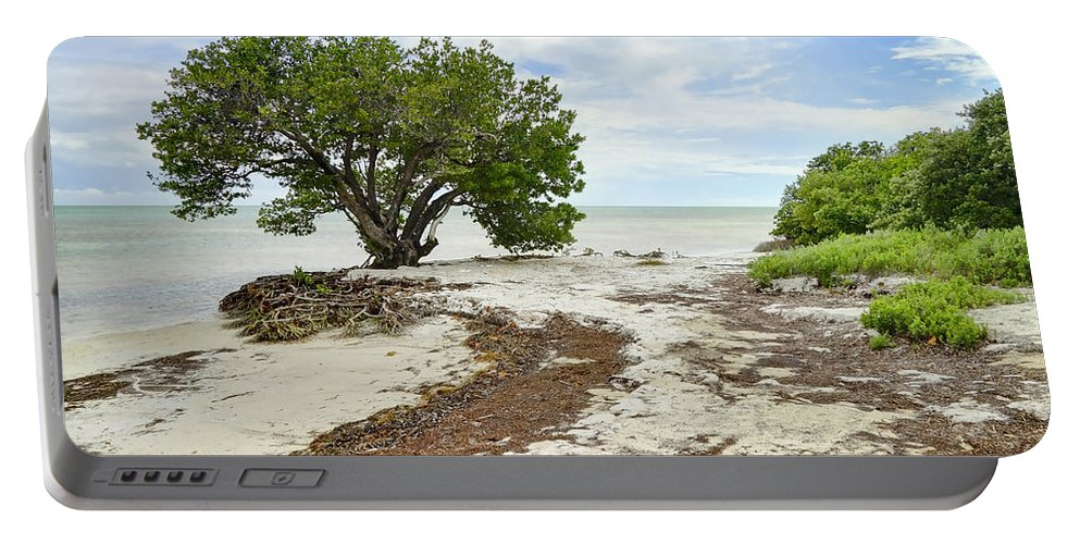 Florida Portable Battery Charger featuring the photograph Anne's Beach-3 by Rudy Umans