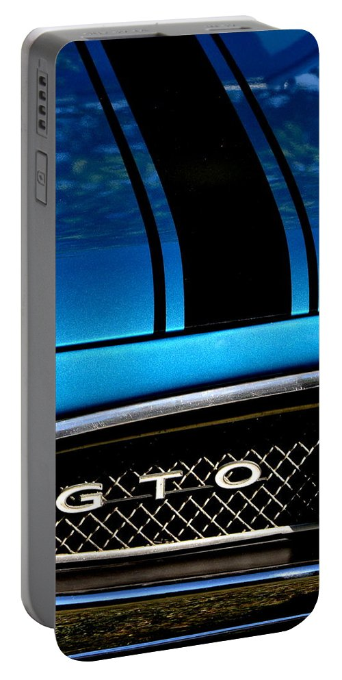 Portable Battery Charger featuring the photograph Blue Gto by Dean Ferreira