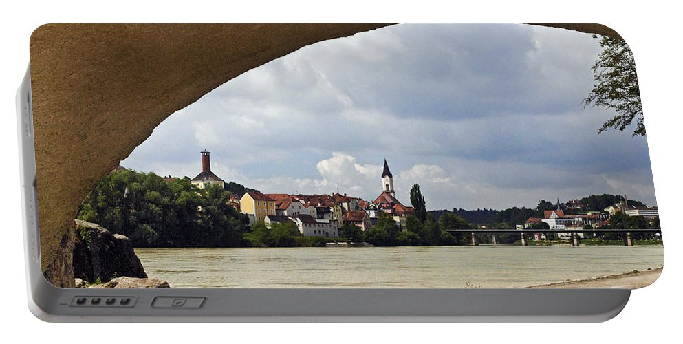 Passau Portable Battery Charger featuring the photograph Passau Germany by Howard Stapleton