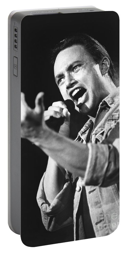 Singer Portable Battery Charger featuring the photograph Queensryche - Geoff Tate by Concert Photos