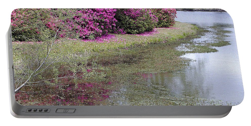 Spring Portable Battery Charger featuring the photograph Spring In Mississippi by Cora Wandel