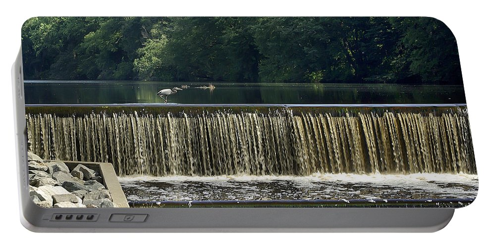 2d Portable Battery Charger featuring the photograph Unicorn Lake by Brian Wallace