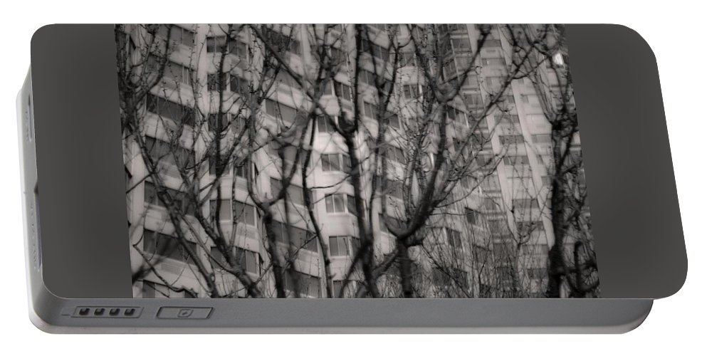 Monochromatic Portable Battery Charger featuring the photograph Untitled by Kathleen Odenthal