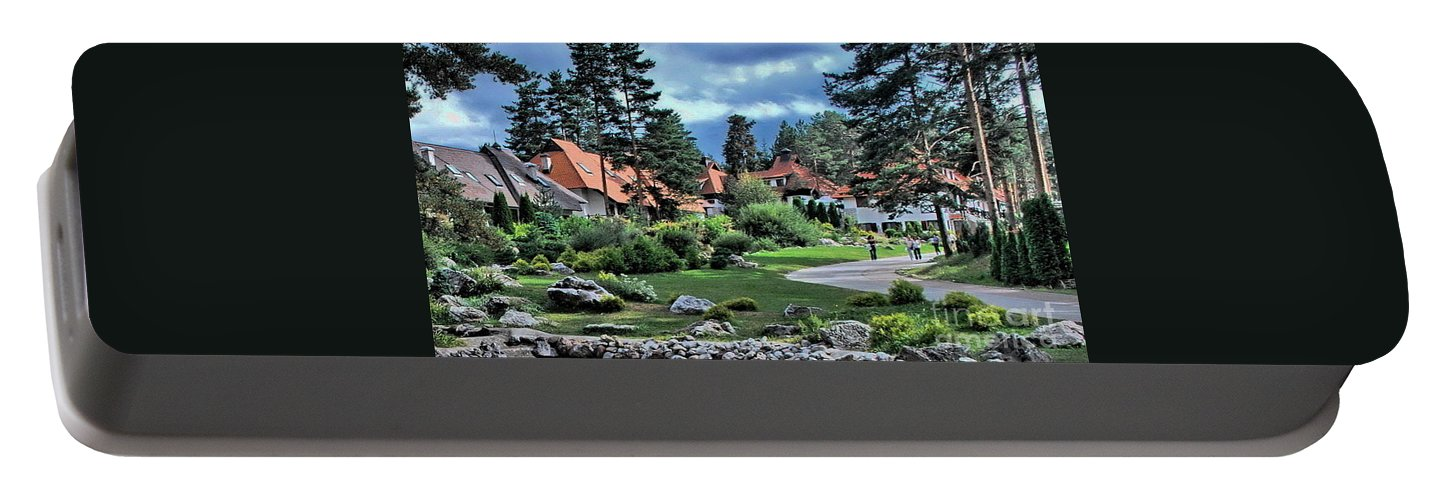 Travels Portable Battery Charger featuring the photograph Zlatibor by Marija Djedovic