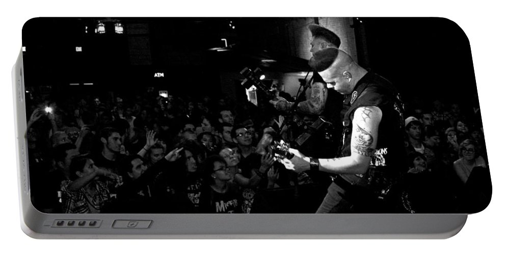 The Nekromantix Portable Battery Charger featuring the photograph Untitled by Chiara Corsaro