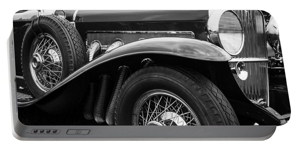 Antique Portable Battery Charger featuring the photograph 1932 Duesenburg by Jack R Perry