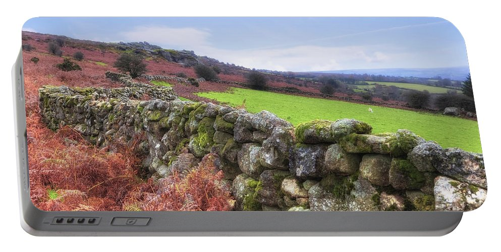 Dartmoor National Park Portable Battery Charger featuring the photograph Dartmoor by Joana Kruse