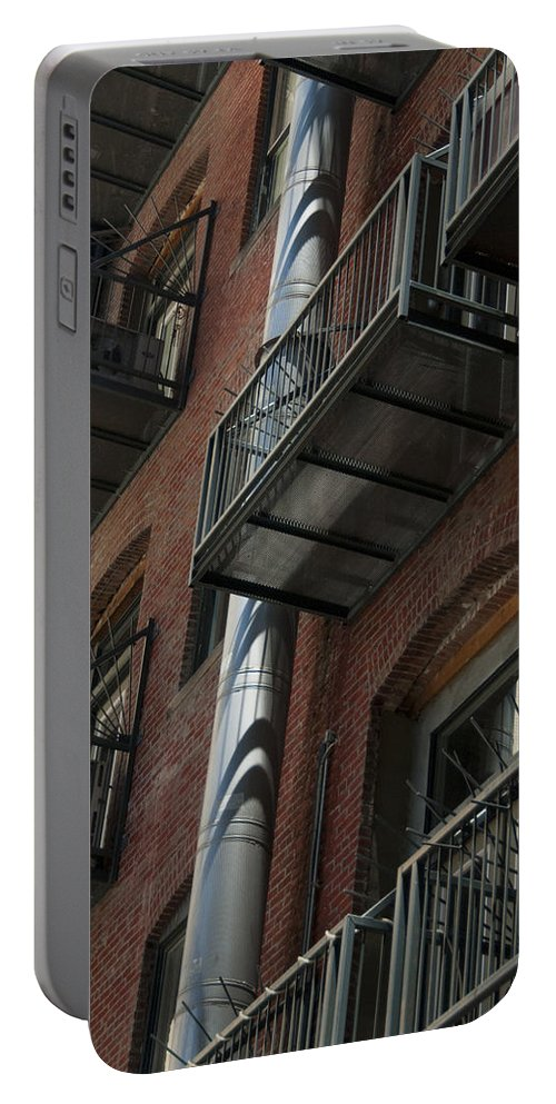 Denver Portable Battery Charger featuring the photograph Denver Street Scenes by Lee Roth