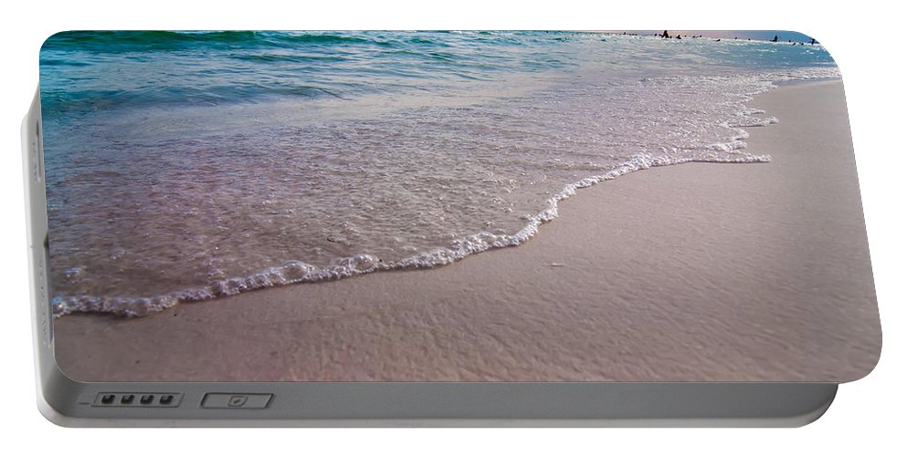Activities Portable Battery Charger featuring the photograph Destin Florida Beach Scenes by Alex Grichenko