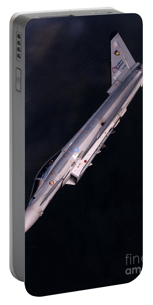 Eurofighter Da 2 Portable Battery Charger featuring the photograph Eurofighter by Paul Fearn