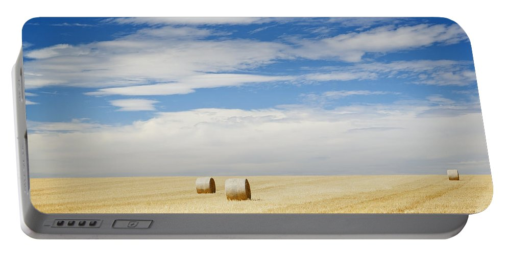 Farm Portable Battery Charger featuring the photograph Harvest by Tim Hester