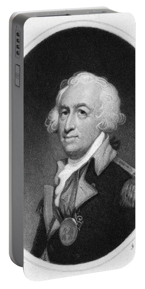 18th Century Portable Battery Charger featuring the photograph Horatio Gates (c1728-1806) by Granger