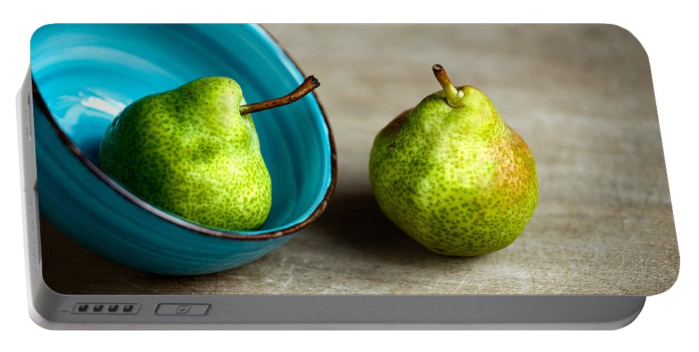 Pear Portable Battery Charger featuring the photograph Pears by Nailia Schwarz