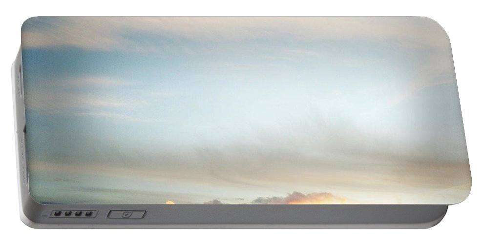 Sunset Portable Battery Charger featuring the photograph Sunset by Les Cunliffe
