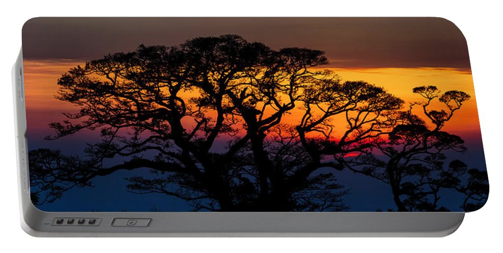 Monte Vedre Portable Battery Charger featuring the photograph Untitled by John K Sampson