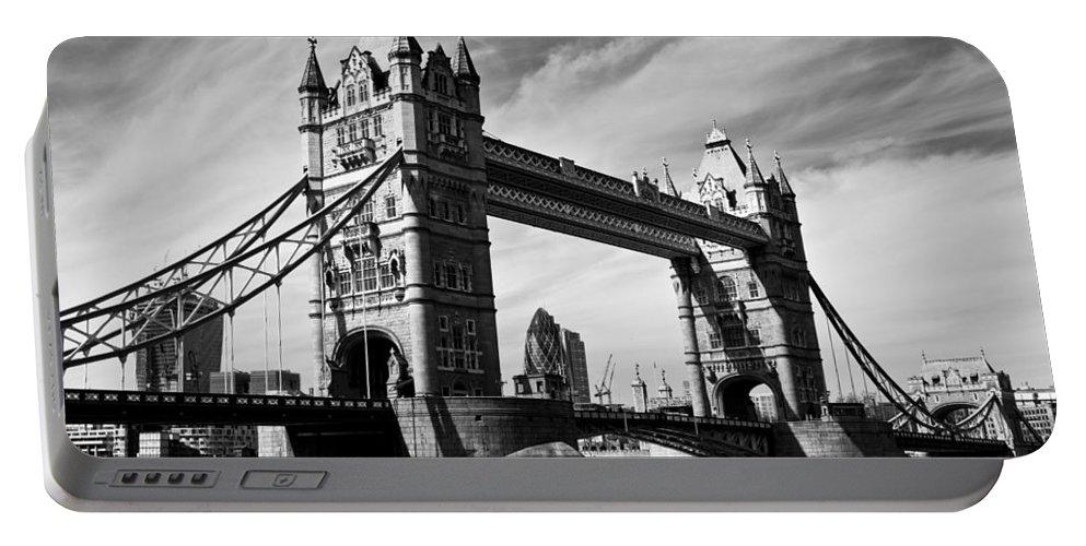 Tower Bridge Portable Battery Charger featuring the photograph Tower Bridge London by David Pyatt