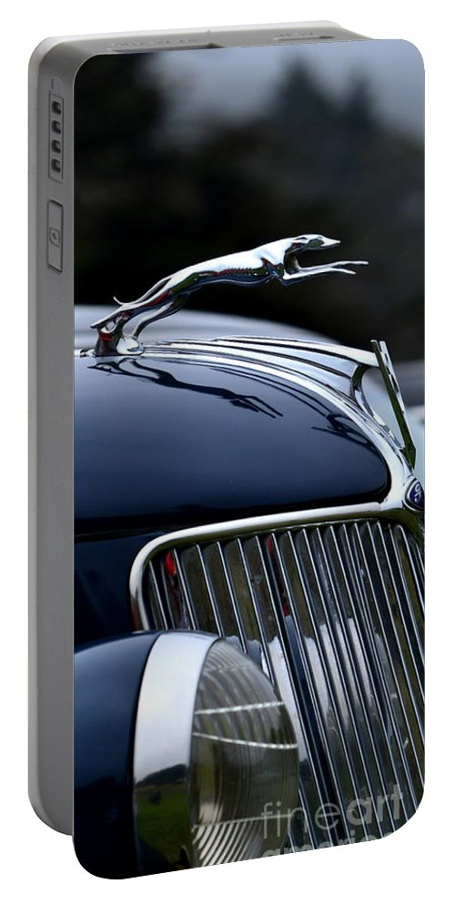 Ford Portable Battery Charger featuring the photograph Classic Ford Detail by Dean Ferreira