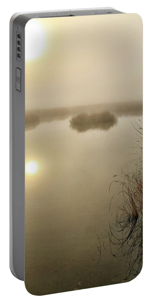 Outdoors Portable Battery Charger featuring the photograph A General View Of The National Park by David Santiago Garcia