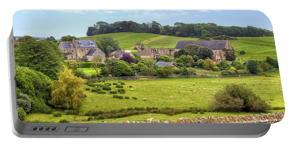 Abbotsbury Portable Battery Charger featuring the photograph Abbotsbury by Joana Kruse