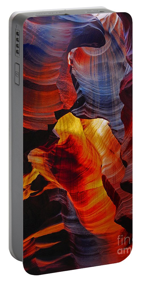 Antelope Canyon Portable Battery Charger featuring the photograph Antelope Canyon - Arizona by Yefim Bam