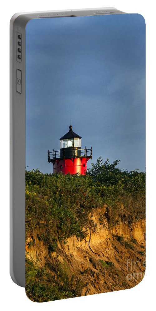 Cape Cod Portable Battery Charger featuring the photograph Nauset Lighthouse by John Greim