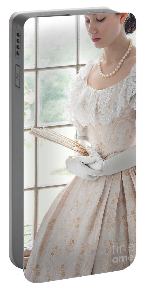 Victorian Portable Battery Charger featuring the photograph Victorian Woman by Lee Avison