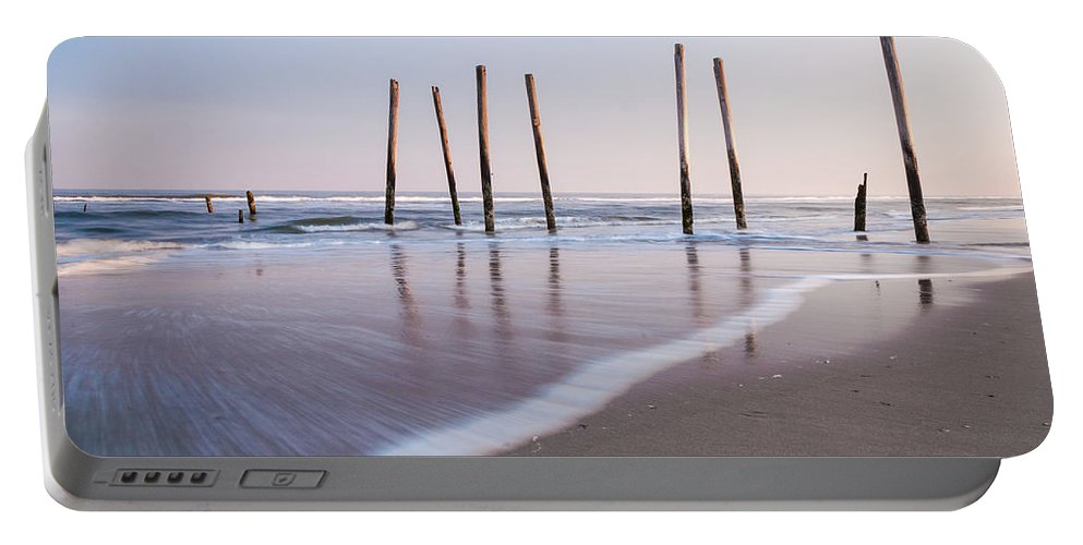 New Jersey Portable Battery Charger featuring the photograph 59th Street by Kristopher Schoenleber