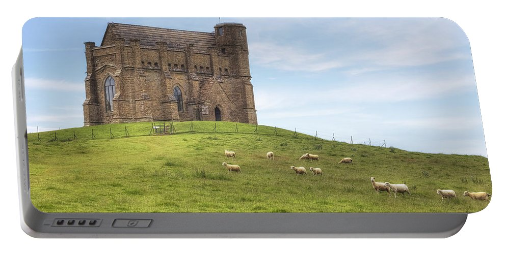St. Chatherine's Chapel Portable Battery Charger featuring the photograph Abbotsbury by Joana Kruse