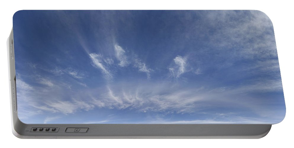 Nature Portable Battery Charger featuring the photograph Big Blue Sky by Les Cunliffe