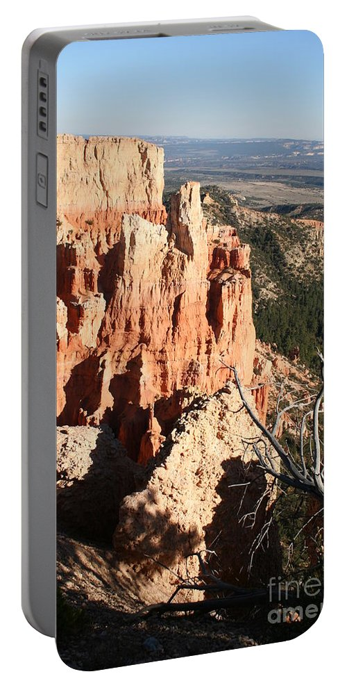 Canyon Portable Battery Charger featuring the photograph Bryce Canyon by Christiane Schulze Art And Photography