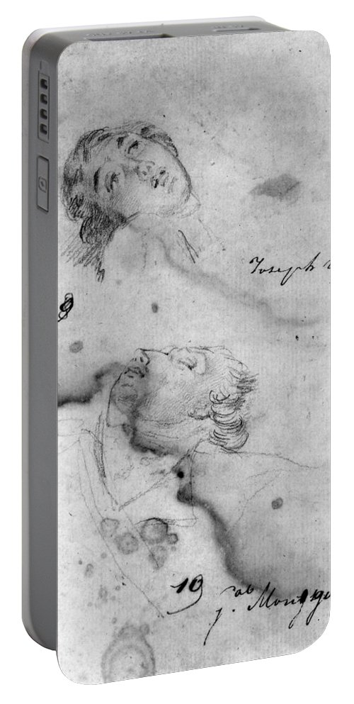 18th Century Portable Battery Charger featuring the photograph Joseph Warren (1741-1775) by Granger