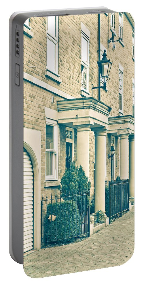 Architecture Portable Battery Charger featuring the photograph Modern Homes by Tom Gowanlock